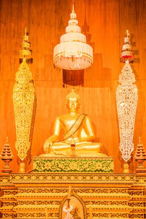 Phra Budda Sri in Phra Kaew temple, Thailand.