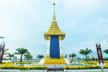 Royal Crematorium Replica at Phayao Province, Thailand. Editorial