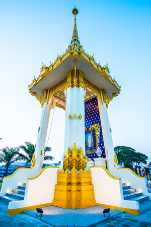 Royal Crematorium Replica at Phayao Province, Thailand. Editorial
