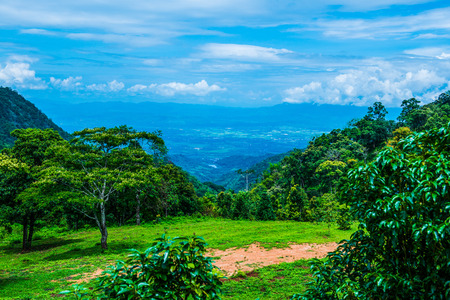 Mountain view at Chiangmai province, Thailand.