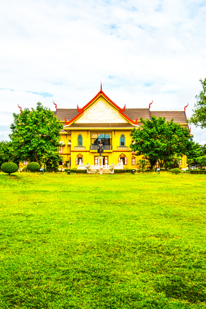 National museum of Nan province, Thailand.