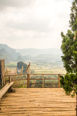 Beautiful View of Phu Langka National Park, Thailand.