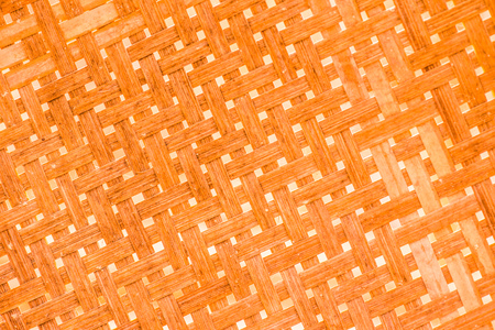 Background of Bamboo Weave, Thailand. Stock Photo