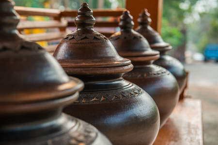 Thai style water pot, Thailand.