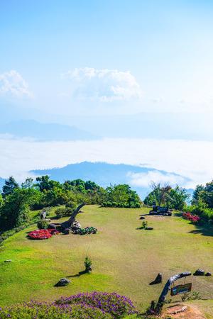 Doi Kiew Lom view point in Huai Nam Dang national park, Thailand. Stock fotó