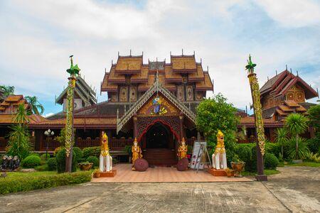 Nantaram temple in Phayao province, Thailand.