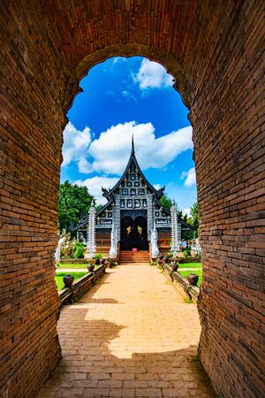 Lokmolee Temple in Chiangmai province, Thailand.