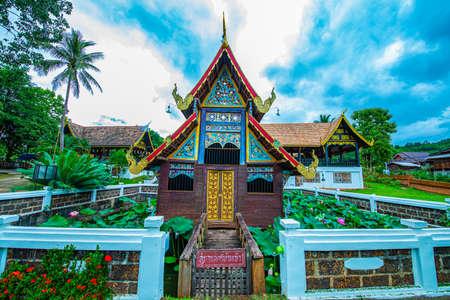 Old church in the Phuttha Eoen temple, Thailand. Editorial