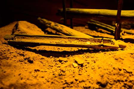 Model of Spirit Cave, Thailand.