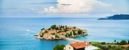 St. Stefan island in Montenegro