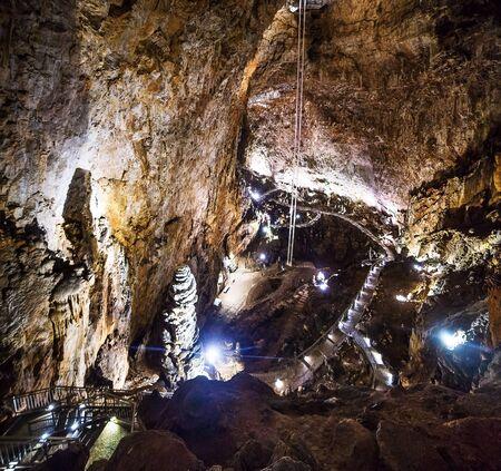 Grotta Gigante cave in Tieste Italy