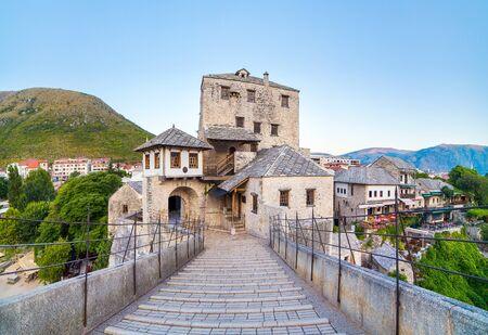 old bridge in Mostar in Bosnia and Gerzegovina