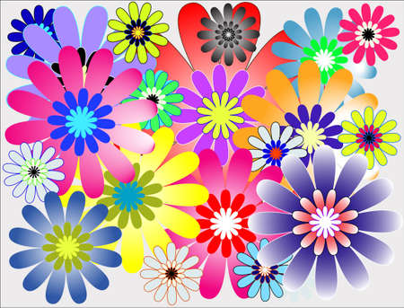 Blooming Flower Stock Vector - 16955852