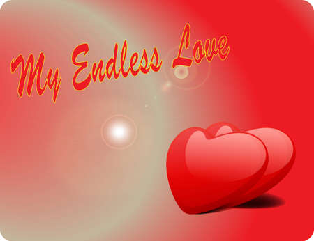 disposition: Valentine Love Card - My Endless Love