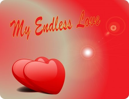 Valentine Love Card - My Endless Love II