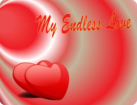Valentine Love Card - My Endless Love III
