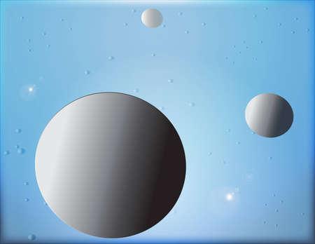정오: 지구와 별의 푸른 공간에서 정오