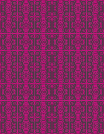 New Curve Line Designing Background Pattern II Illustration