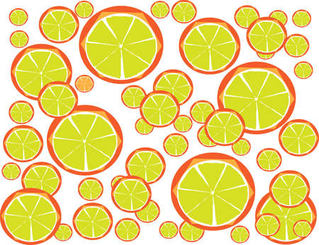 Colorful Lemon Juice for Diet with Your Fitness Style Illustration