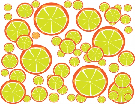 Colorful Lemon Juice for Diet with Your Fitness Style Stock Vector - 17062500