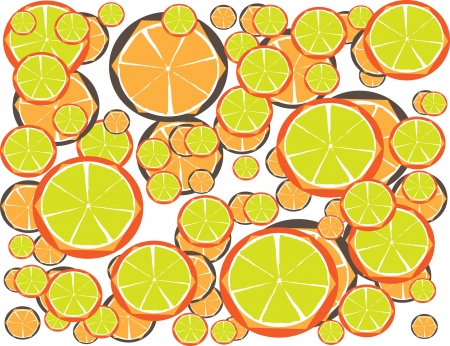 Multicolor Lemon Juice for Diet with Your Fitness Style Stock Vector - 17062501
