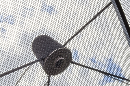 The Satellite Signal Wave Receiver Dish for Television