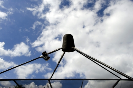 airwaves: The Satellite Signal Wave Receiver Dish for Television