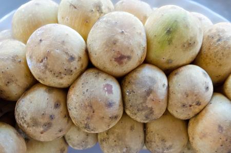 initiator: The Fresh Longan,Dimocarpus longan Lour,Sapindaceae,Thai Fruit Yummy Stock Photo