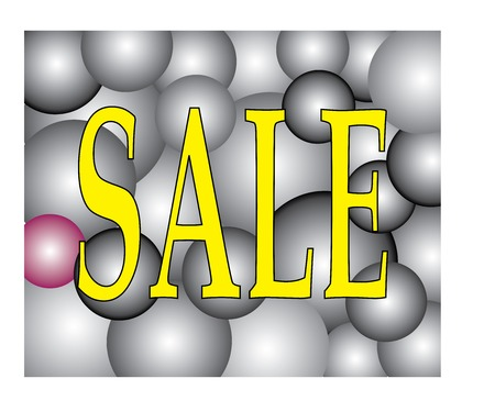 Vector of Sale on Light Two Tone Ball Festival  Illustration