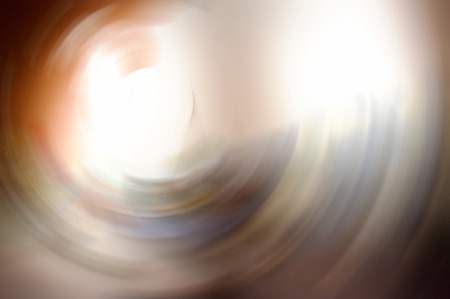 The Abstract and Backgroung Texture Like the light at the edge of Tunnel. Stock Photo