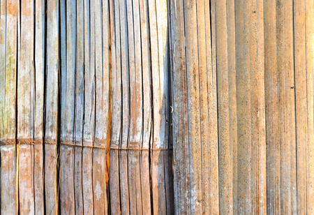 The Abstract Background Pattern of Bamboo Wall Material Style.