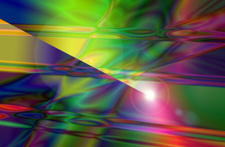 The Colorful Abstract and Background Texture with Lens Flare. Stock Photo
