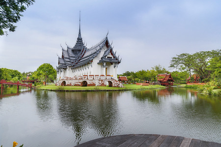 samut prakan: Ancient city in Samut Prakan province, Thailand Editorial