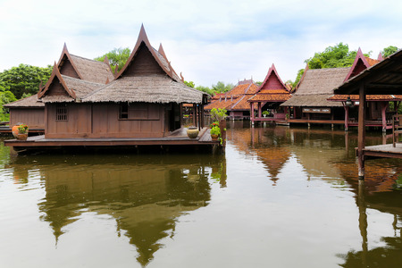 samut prakan: Ancient city in Samut Prakan province, Thailand Stock Photo