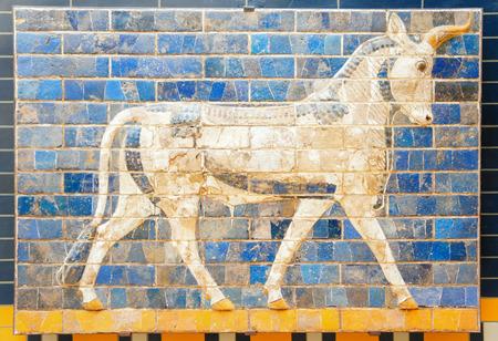 mesopotamian: Fragment of the Ishtar Gate