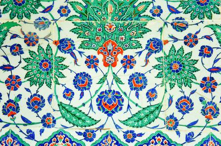 Turkish mosaic at the Topkapi Palace photo
