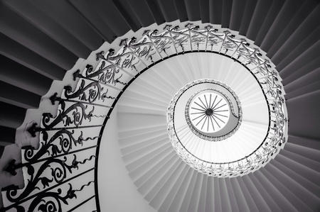 Spiral staircase Banque d'images