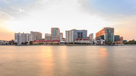 praya: Siriraj Hospital on the Chao Phraya River, one of the oldest and the most famous hospital in Thailand, it was founded since 1888.