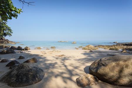 phangnga: Khoa Lak beach in the morning light, Phang-Nga Province, Thailand
