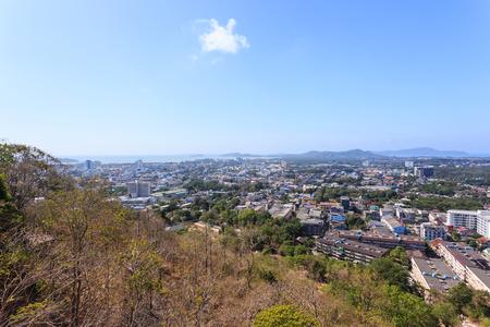 rang: Phuket Cityscape Stock Photo