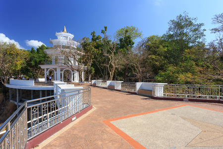 phuket province: Phuket, Thailand - 29 March, 2015: Unidentified tourist enjoy at the viewpoint of Phuket city, Phuket province Thailand.