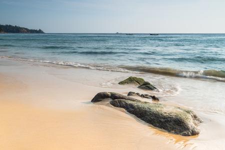 phuket province: Nai Thon Beach, Phuket province Thailand. Stock Photo
