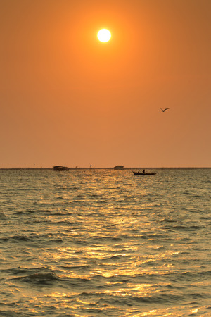 chonburi: Fishery area, Bangsai, Chonburi Province.
