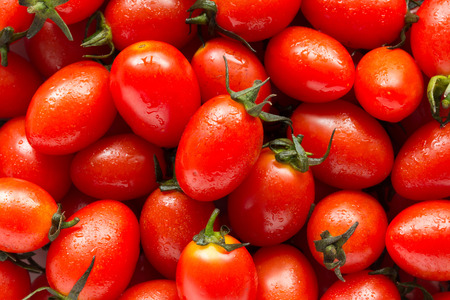 Group of fresh tomato background Banque d'images