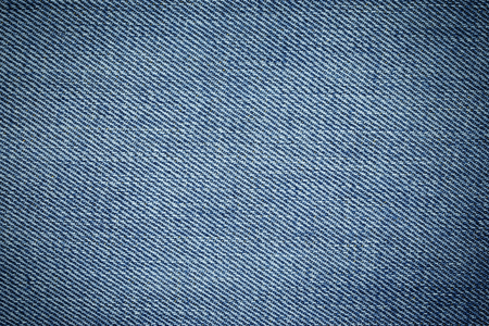 Blue denim jean texture and background