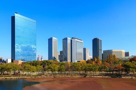Osaka Business Park in the autumn, Kansai, Japan