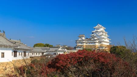 ninja ancient: Himeji Castle, Japan,  Editorial