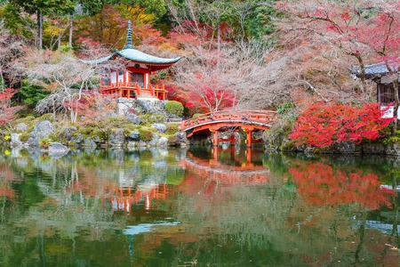 clam gardens: Bentendo in Daigoji Buddhist Temple, Kyoto, Japan