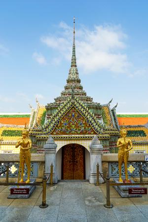 the grand palace: Grand Palace or Temple of the Emerald Buddha, Bangkok, Thailand