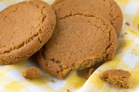 galleta de jengibre: El jengibre galleta, fondo de alimentos